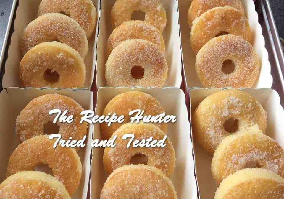 Preshana's Homemade Baked Sugar Donuts