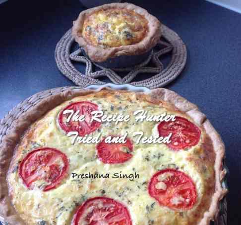 Preshana' Halal Peperoni, Veggie and Cheese Quiche