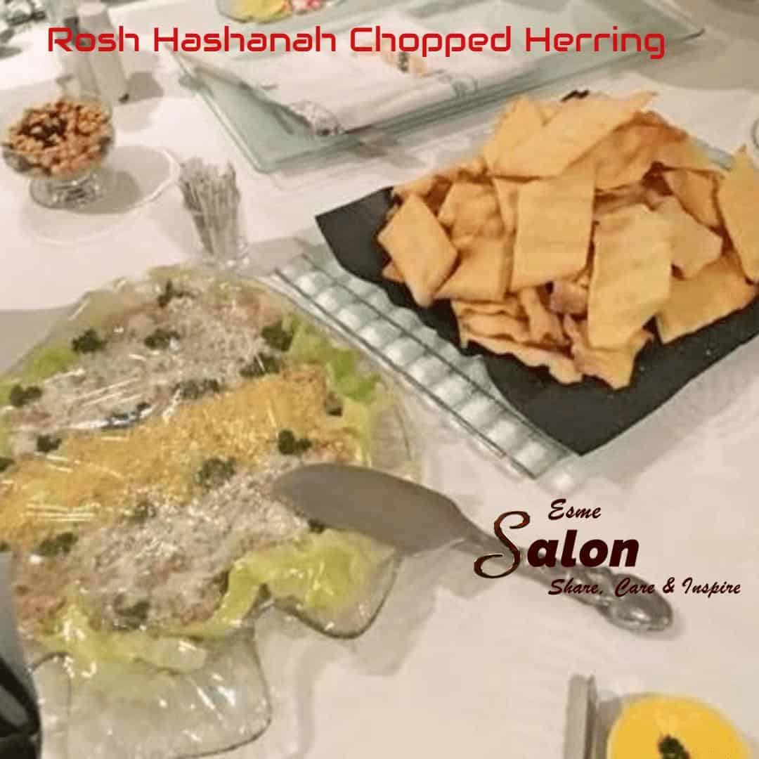 Rosh Hashanah Chopped Herring