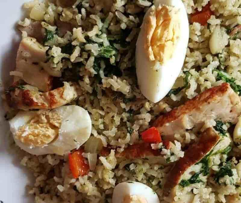 G…uest #23: Health Eating Brown Rice Pilaf