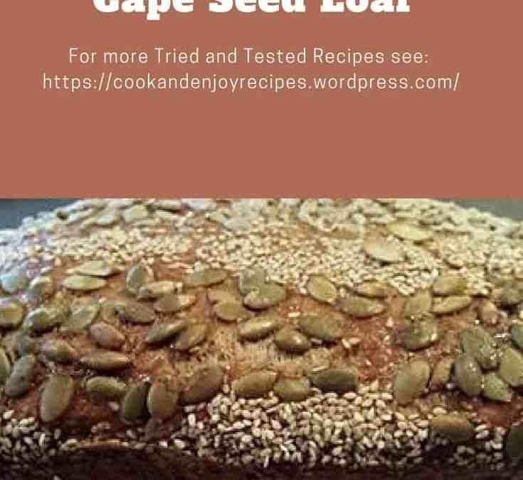 Es's Cape Seed Loaf