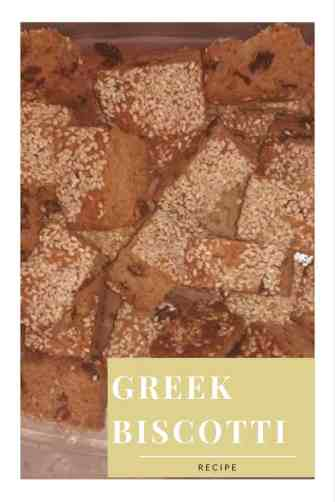 Greek biscotti