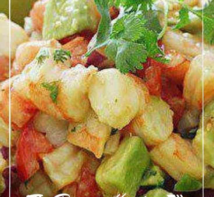 Mona's Lime Shrimp and Avocado Salad
