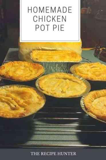 Sam's Homemade Chicken Pot Pie