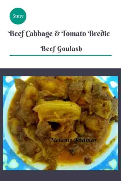 Beef Cabbage & Tomato Bredie