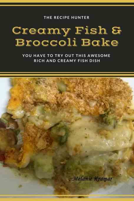 Creamy Fish & Broccoli Bake