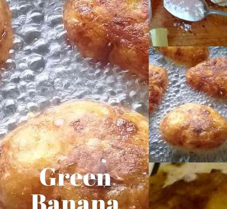 Carol's Green Banana Koftas with Curry Sauce