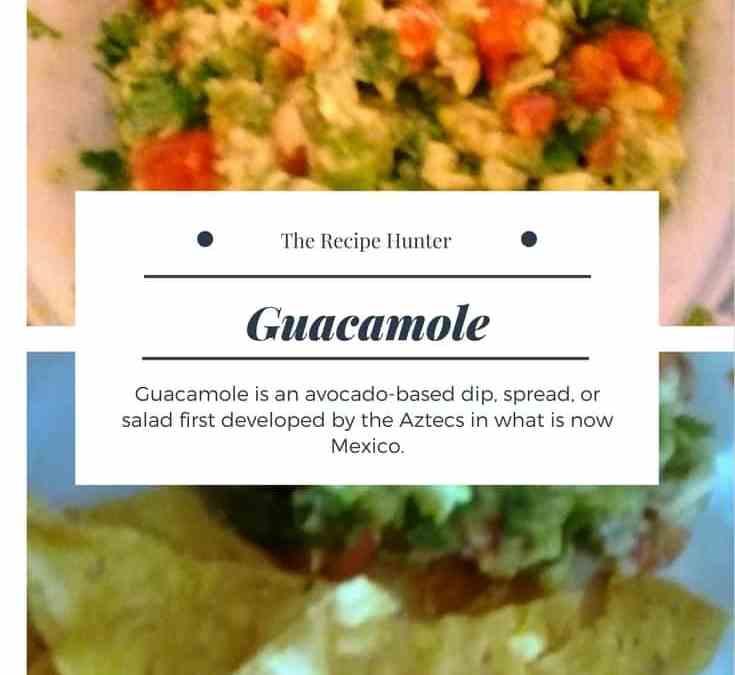 Carol's Guacamole