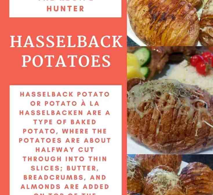 Feriel's Hasselback Potatoes