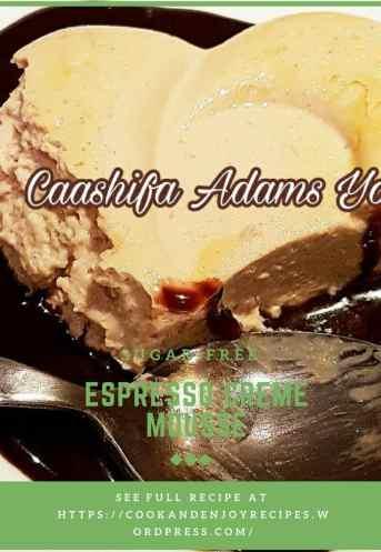 Sugar-free Espresso Creme Mousse