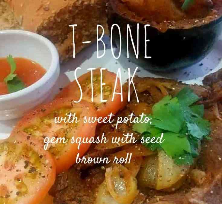 Feriel's T-Bone steak