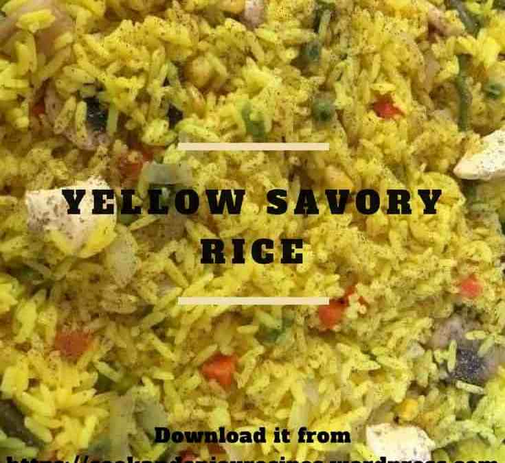 Bobby's Yellow Savory Rice