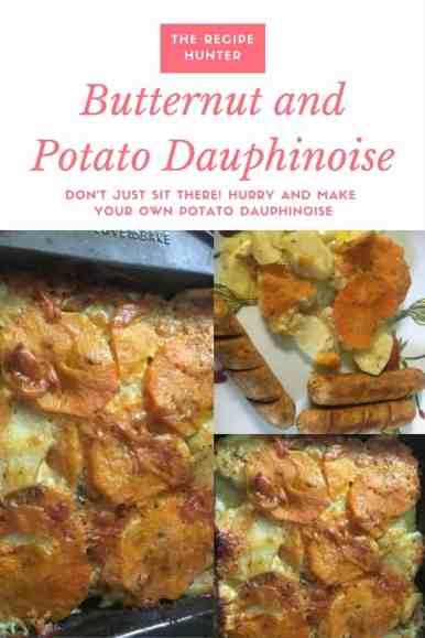 Butternut and Potato Dauphinoise