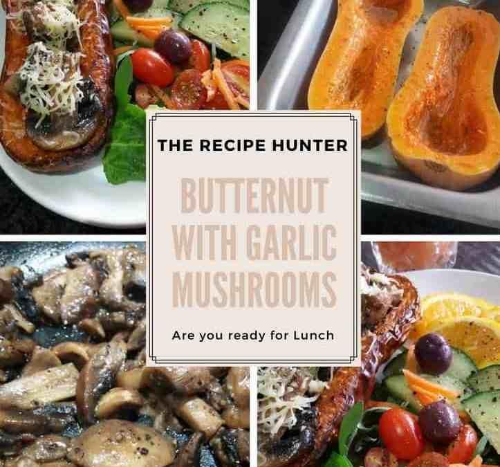 Feriel's Butternut with Garlic Mushrooms