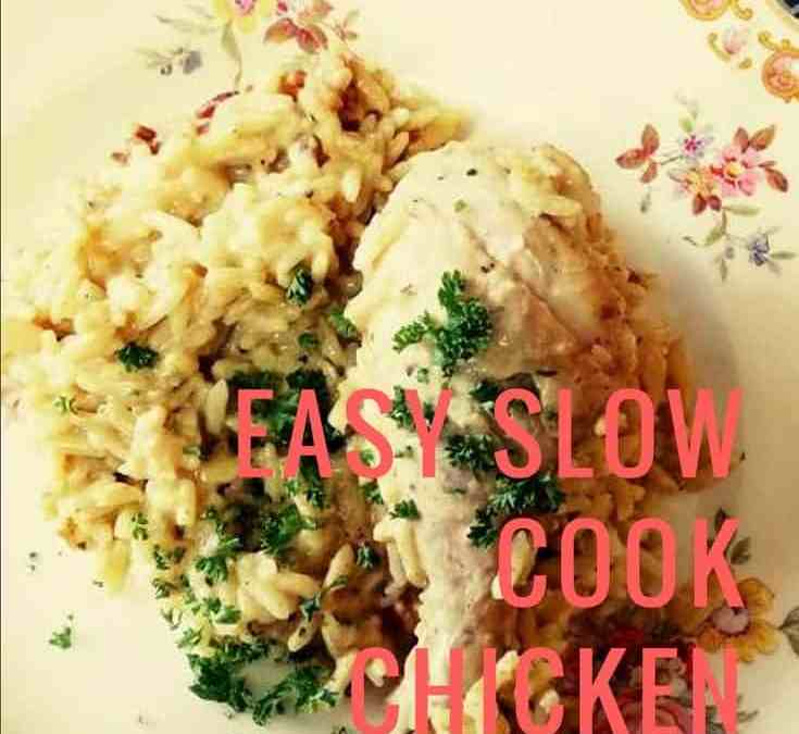 Dee's Easy Slow Cook Chicken