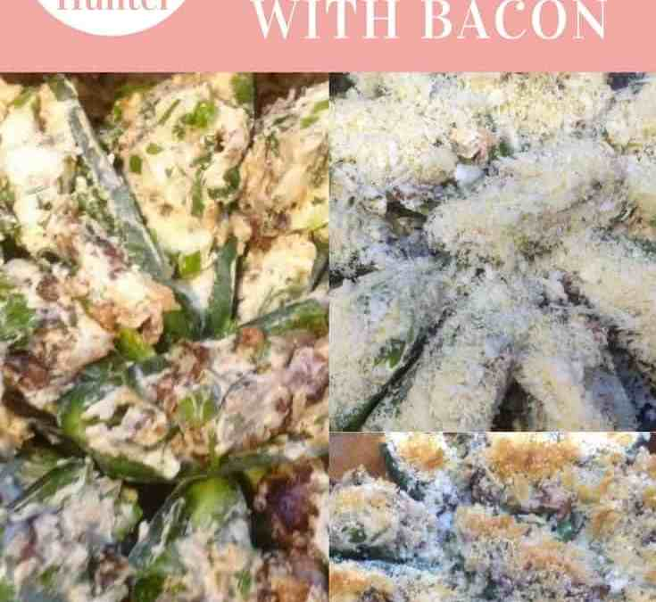 Carol's Jalapeno Poppers with Bacon