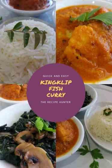 Kingklip Fish Curry