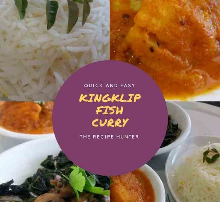 Feriel's Kingklip Fish Curry