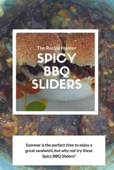 Spicy BBQ Sliders