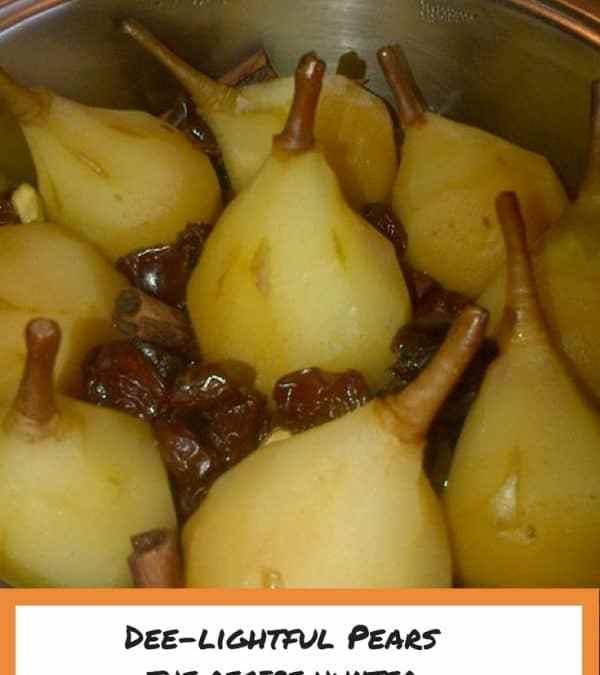 Dee's Dee-lightful Pears
