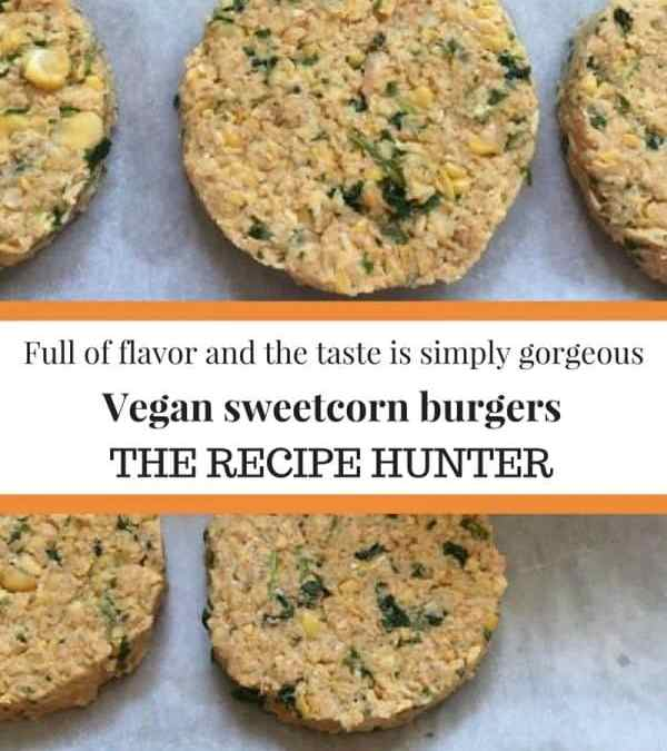 Vegan Sweetcorn Burgers