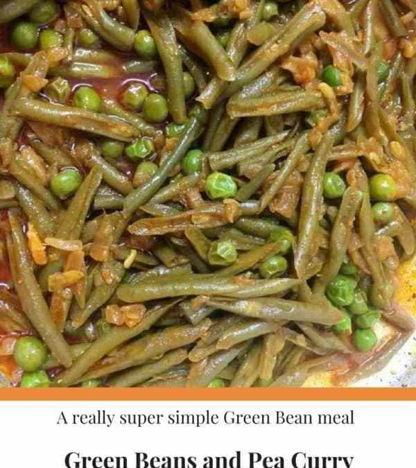 Green Beans and Pea Curry