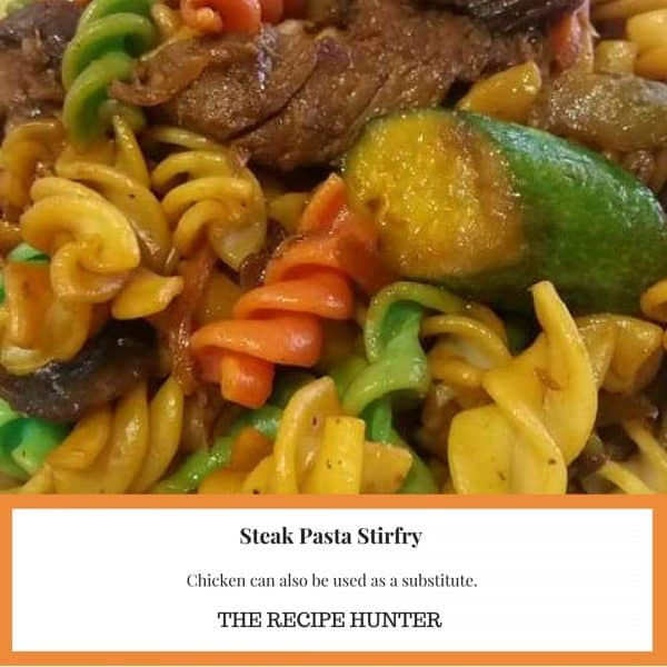 Steak Pasta Stir-fry