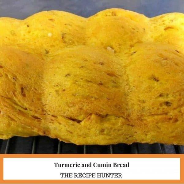 Turmeric and Cumin Bread
