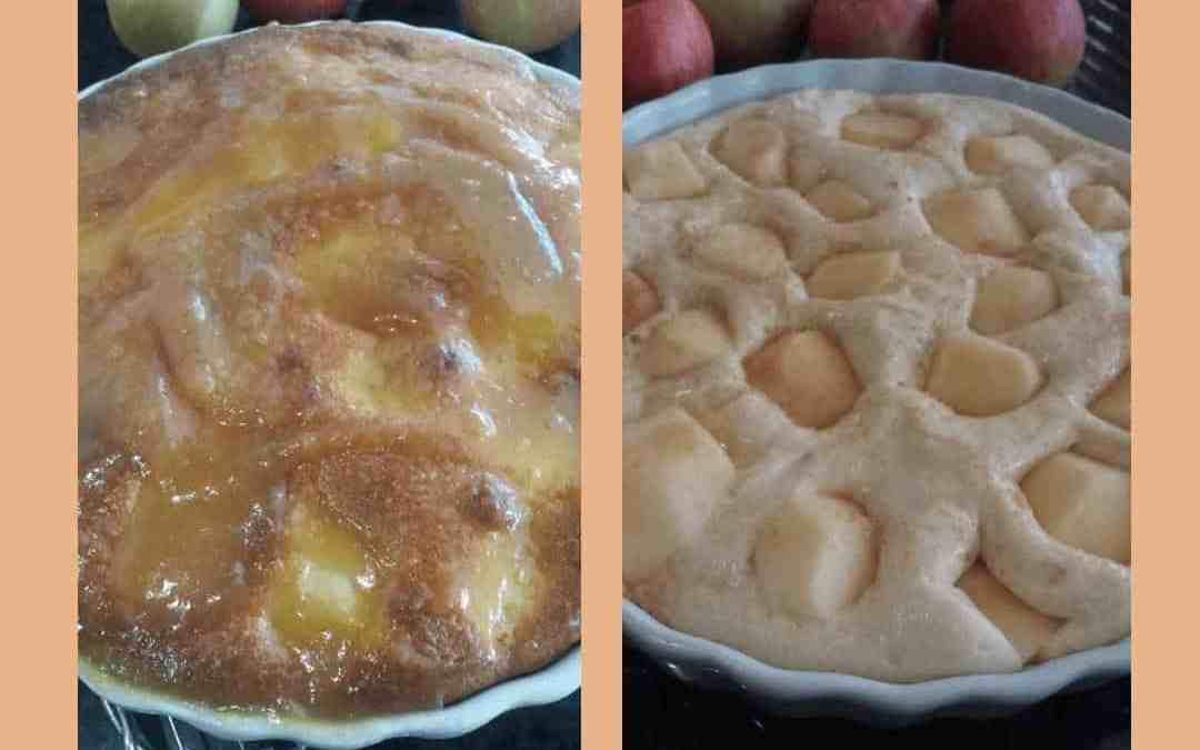 Apple Bake with Sauce
