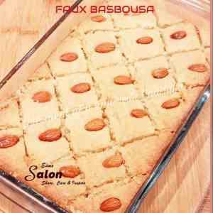 Low Carb Faux Basbousa