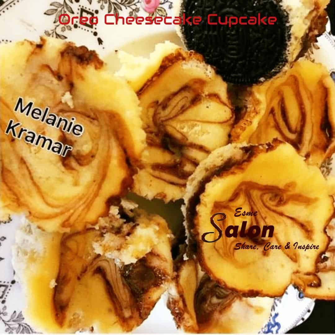 Oreo Cheesecake Cupcake 