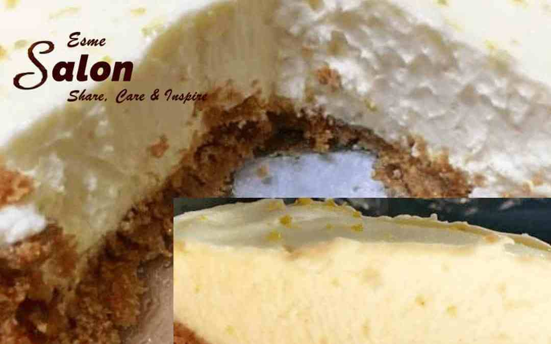 Vegan Lemon Pie With Ginger Cookie Crust