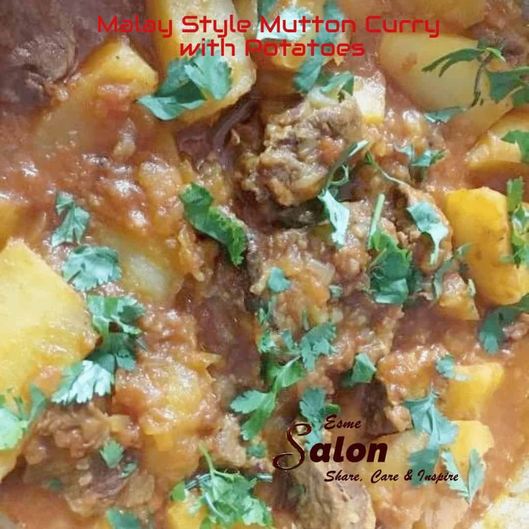 Malay Style Mutton Curry with Potatoes