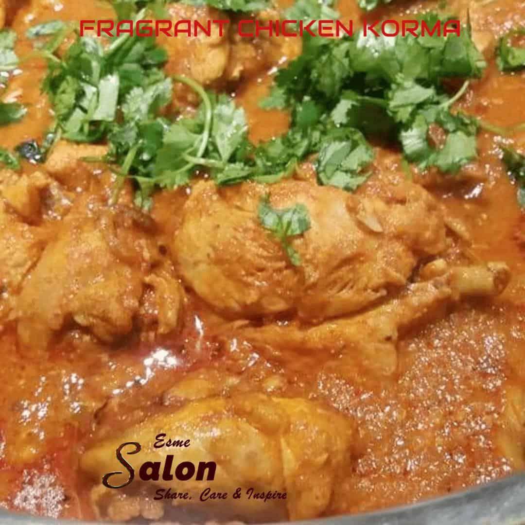 Fragrant Chicken Korma