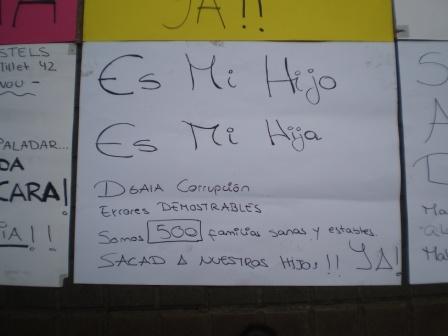 Manifestación en la DGAIA