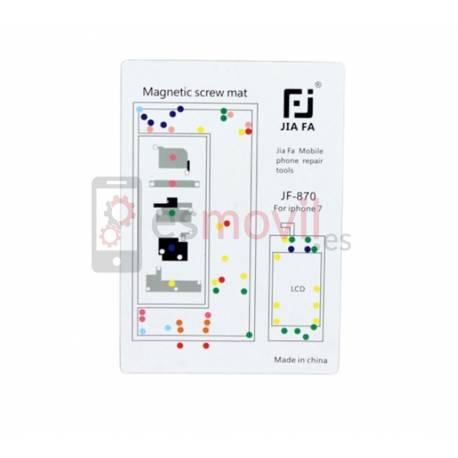 Apple iPhone 7 Tapis guide vis magnétique