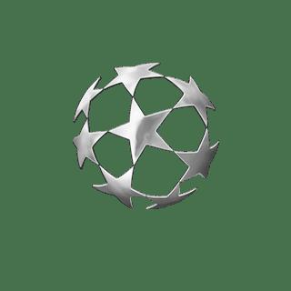 Transparent White Champions League Logo