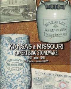 Kansas and Missouri Advertising Stoneware