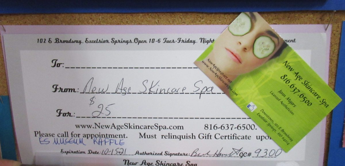 R55 New Age Skincare Spa Excelsior Springs Museum Archives