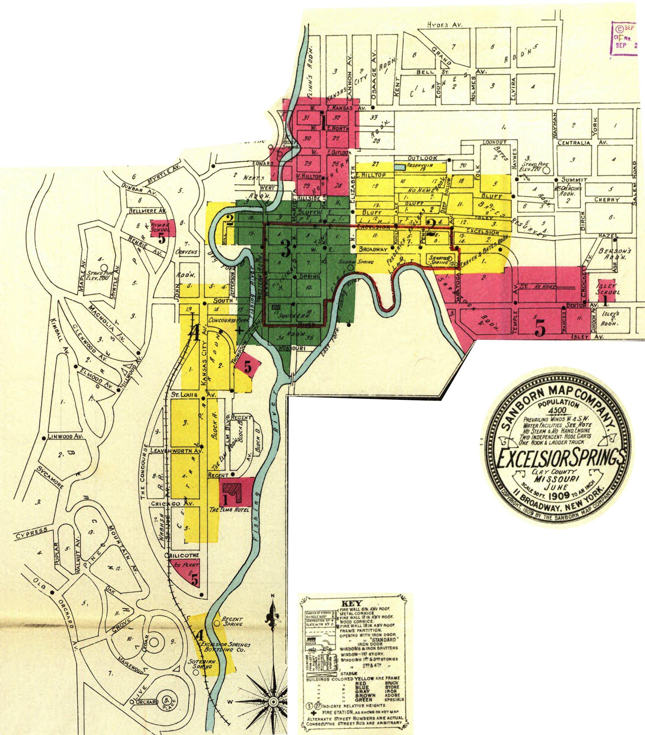 Sanborn Maps – 1909