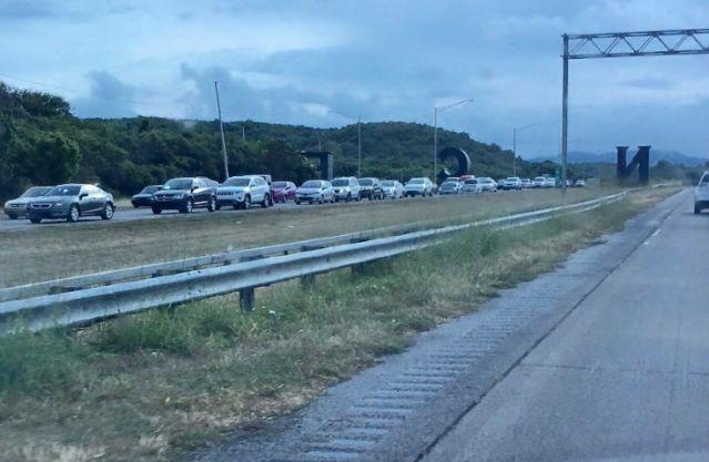 Cierre de un carril de la autopista entre Ponce y Juana Díaz