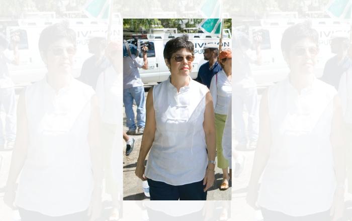 Muere Vivian Alemañy, esposa de Rubén Berrios