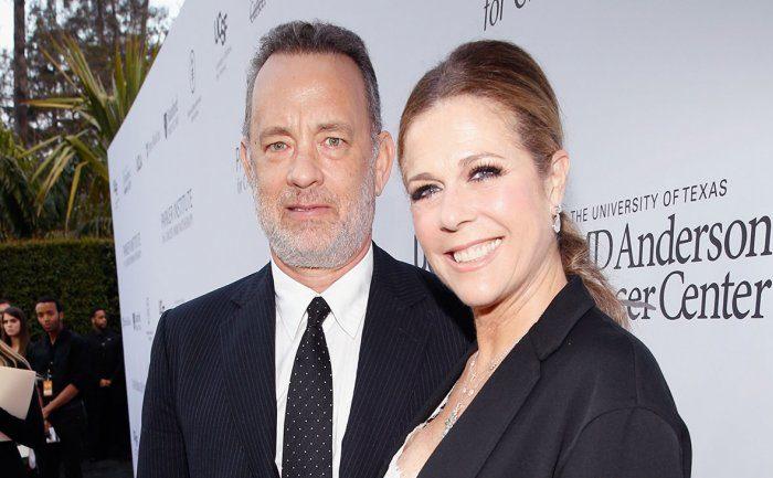Tom Hanks y su esposa Rita Wilson anuncian que tienen coronavirus
