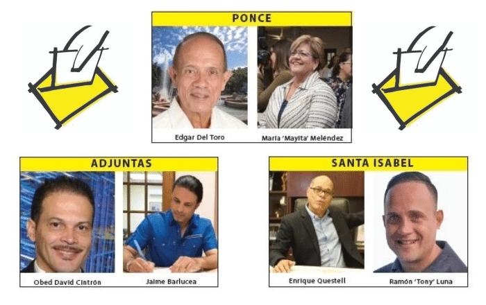 Tres alcaldes sureños del PNP enfrentan primaria