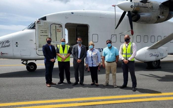 Inauguran millonario acceso para aviones en Aeropuerto Mercedita