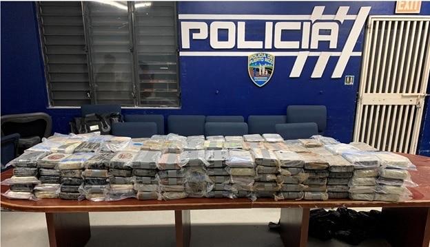 Incautan 239 bloques de cocaína valorados en más de $7 millones