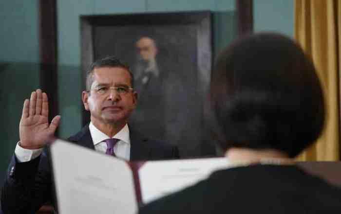 Juramenta Pierluisi ante jueza del Tribunal Supremo