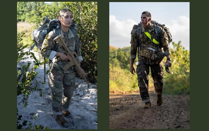 Dos soldados puertorriqueños buscan ganar competencia 'El Mejor Guerrero'