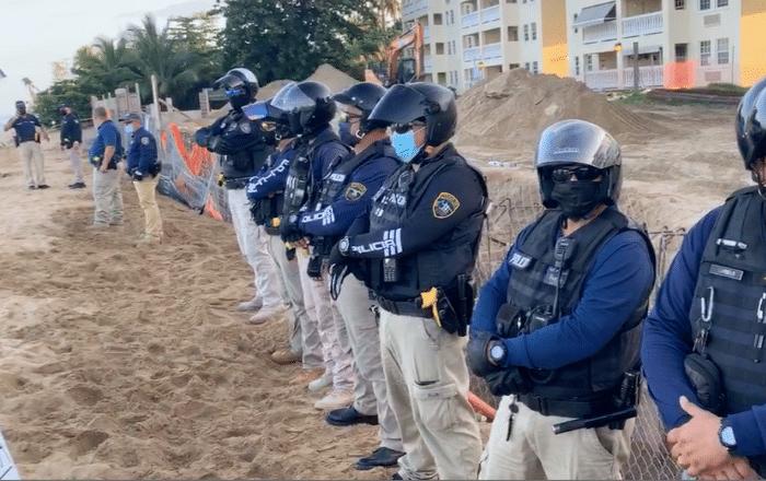 Continúa la lucha por detener construcción en playa de Rincón