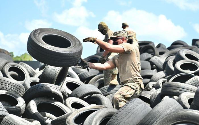 GN recoge 250,000 neumáticos usados en Ponce